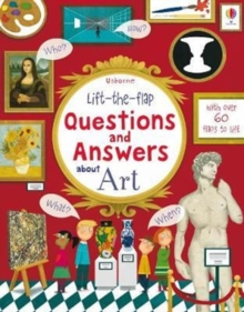 Image for Usborne lift-the-flap questions and answers about art