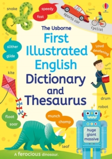 Image for First illustrated dictionary and thesaurus