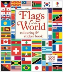 Image for Flags of the World Colouring & Sticker Book