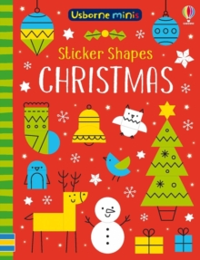 Image for Sticker Shapes Christmas