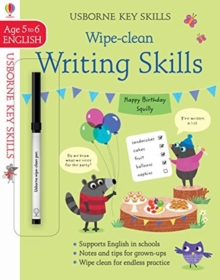 Image for Wipe-Clean Writing Skills 5-6