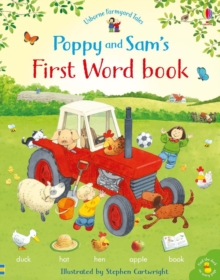 Image for Poppy and Sam's first word book