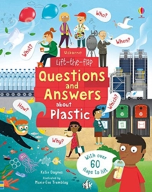 Image for Usborne lift-the-flap questions and answers about plastic
