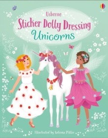 Image for Sticker Dolly Dressing Unicorns