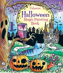 Image for Halloween Magic Painting Book