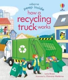 Peep Inside How a Recycling Truck Works - Bryan, Lara