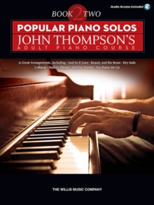 Image for Popular Piano Solos : John Thompson's Adult Piano Course - Book 2 (Book/Online Audio)