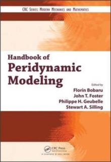 Image for Handbook of peridynamic modeling