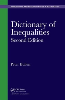 Image for Dictionary of inequalities