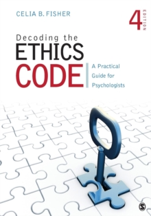 Image for Decoding the ethics code  : a practical guide for psychologists