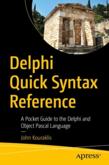 Image for Delphi Quick Syntax Reference : A Pocket Guide to the Delphi and Object Pascal Language