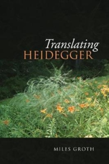 Image for Translating Heidegger