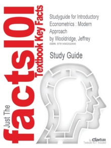 Image for Studyguide for Introductory Econometrics : Modern Approach by Wooldridge, Jeffrey