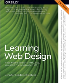 Image for Learning Web design  : a beginner's guide to HTML, CSS, JavaScript, and web graphics