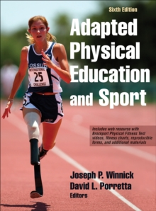 Image for Adapted physical education and sport