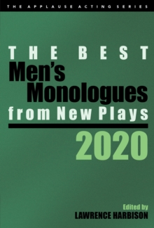 Image for The Best Men's Monologues from New Plays, 2020