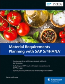 Image for Material Requirements Planning with SAP S/4HANA