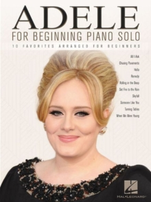 Image for Adele For Beginning Piano Solo
