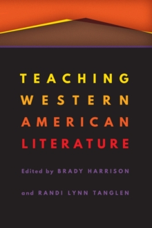 Image for Teaching Western American Literature