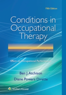 Image for Conditions in occupational therapy  : effect on occupational performance