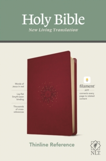 Image for NLT Thinline Reference Bible, Filament Enabled Edition (Red