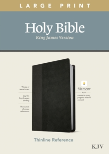 Image for KJV Large Print Thinline Reference Bible, Filament Enabled E