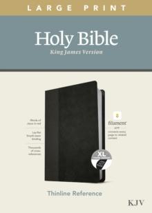 Image for KJV Large Print Thinline Reference Bible, Filament Enabled E