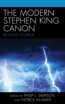 Image for The modern Stephen King canon  : beyond horror
