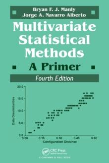 Image for Multivariate statistical methods  : a primer