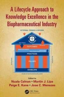 Image for A lifecycle approach to knowledge excellence in the pharmaceutical industry