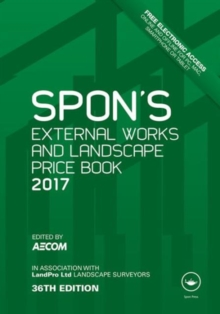 Image for Spon's external works and landscape price book
