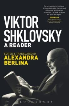 Image for Viktor Shklovsky  : a reader