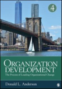 Image for Organization development  : the process of leading organizational change