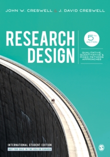 Image for Research design  : qualitative, quantitative & mixed methods approaches