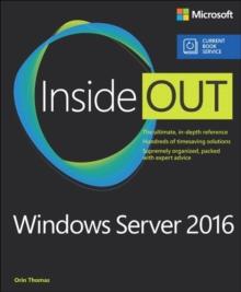 Image for Windows Server 2016 inside out