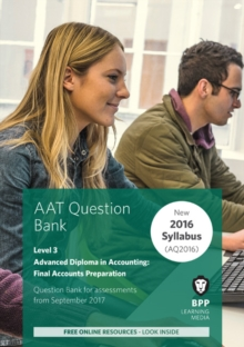 Image for AAT Final Accounts Preparation : Question Bank