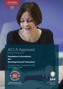 Image for FIA recording financial transactions FA1: Practice and revision kit