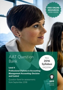 Image for AAT management accounting decision & control: Question bank