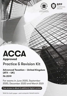 Image for ACCA advanced taxation FA2019: Practice and revision kit