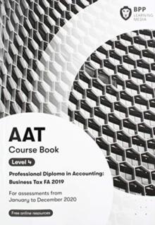 Image for AAT business tax FA2019Coursebook