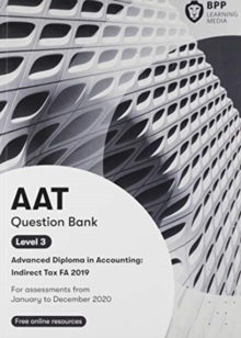 Image for AAT indirect tax FA2019: Question bank