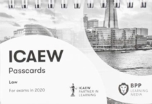 Image for ICAEW law