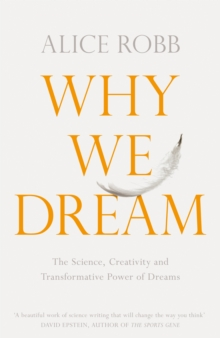 Image for Why we dream  : the science, creativity and transformative power of dreams
