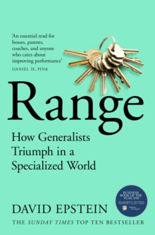 Image for Range  : how generalists triumph in a specialized world