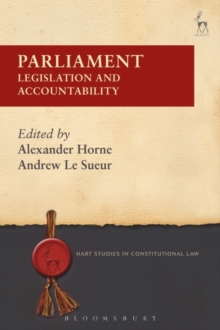 Image for Parliament  : legislation and accountability