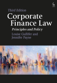 Image for Corporate finance law  : principles and policy