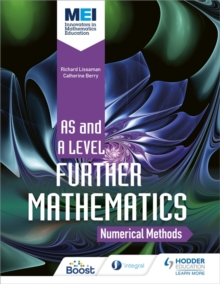 Image for MEI further maths  : numerical methods