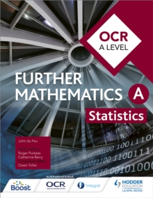 Image for OCR A level further mathematics statistics