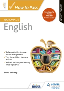 How to pass national 5 English - Swinney, David