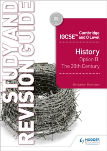 Image for HistoryCambridge IGCSE and O Level: Study and revision guide